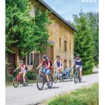 Projet Vëlo am Westen 2 - carte de vélo