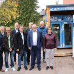 Inauguration du frigo anti-gaspillage à Tuntange