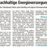 Projet Klimbera - article sur mywort.lu